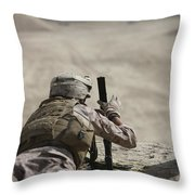 U.s. Marine Clears A Pk General-purpose Throw Pillow