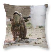 U.s. Marine Fires A Rocket-propelled Throw Pillow