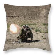 U.s. Marines Fire A Rocket-propelled Throw Pillow