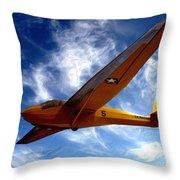 U.s. Marines Glider Throw Pillow