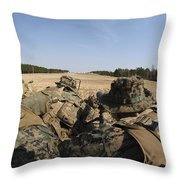 U.s. Marines Participate In A Known Throw Pillow