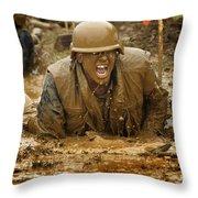 U.s. Naval Academy Plebes Navigate Throw Pillow