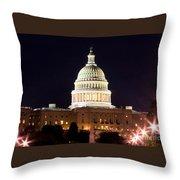 Us Senate Throw Pillow