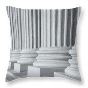 Us Supreme Court Building IIi Throw Pillow