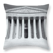 Us Supreme Court Building Viii Throw Pillow