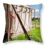 Usa Springfield 1861 Throw Pillow