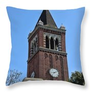 Usc's Clock Tower Throw Pillow