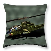Usmc Ah-1 Cobra Throw Pillow