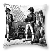 Uss Chesapeake, 1807 Throw Pillow
