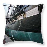 Uss Constellation 1854 Throw Pillow