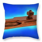 Uss Enterprise Cvan 65 Bronze Throw Pillow