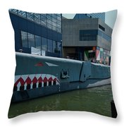 Uss Torsk Throw Pillow