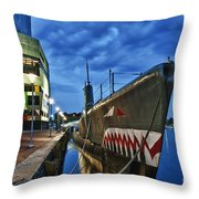 Uss Torsk Submarine Memorial Throw Pillow