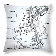 Ussua Dance - Sao Tome And Principe Throw Pillow