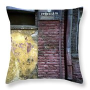 Utensils. Belgrade. Serbia Throw Pillow