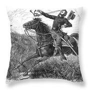 Utes: White River Attack Throw Pillow