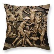 Utopian Art Throw Pillow