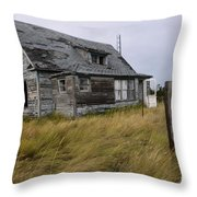 Vacant House Throw Pillow