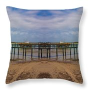 Vacation Reflection Throw Pillow