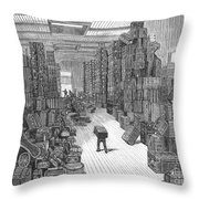 Vacation Travel, 1882 Throw Pillow
