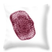 Vaccinia Virus Throw Pillow