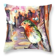 Vagabond De La Nuit Throw Pillow