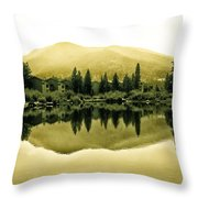 Vail Reflections 2 Throw Pillow