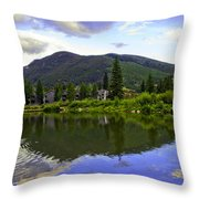 Vail Reflections 6 Throw Pillow