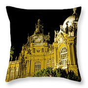 Vajdahunyad Castle Throw Pillow