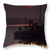 Valentia Island, County Kerry, Ireland Throw Pillow