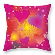 Valentine 2012 Throw Pillow
