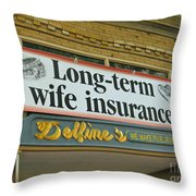 Valentine Reminder Throw Pillow