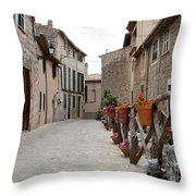 Valldemossa Throw Pillow by Ana Maria Edulescu