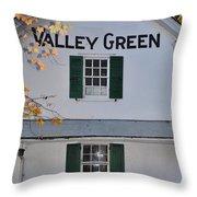 Valley Green Inn - Side View Throw Pillow