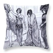 Vamps Throw Pillow
