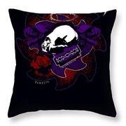 Vampyre  Throw Pillow