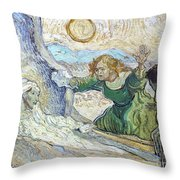 Van Gogh: Lazarus Throw Pillow