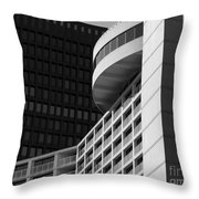 Vancouver Architecture Throw Pillow by Chris Dutton