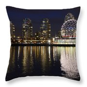 Vancouver British Columbia 2 Throw Pillow