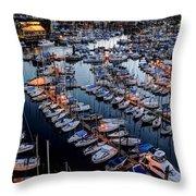 Vancouver British Columbia 9 Throw Pillow