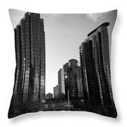 Vancouver Skyscrapers Throw Pillow