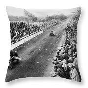 Vanderbilt Cup, 1906 Throw Pillow