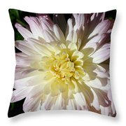Vanilla Mum Throw Pillow