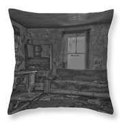 Vanity Of A Ventriloquist  Throw Pillow