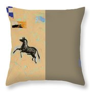 Variations Equine Throw Pillow