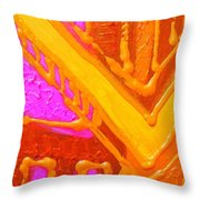 Variations On A Theme Throw Pillow