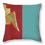 Variations Pieces Throw Pillow