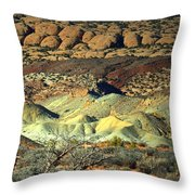 Varying Landscape Throw Pillow
