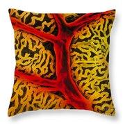 Vascular System Of The Epididymis Throw Pillow