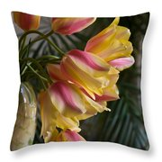 Vase Beauty Throw Pillow